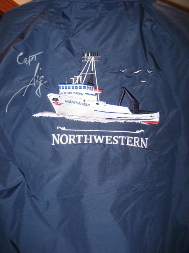 Official F/V Northwestern jacket!