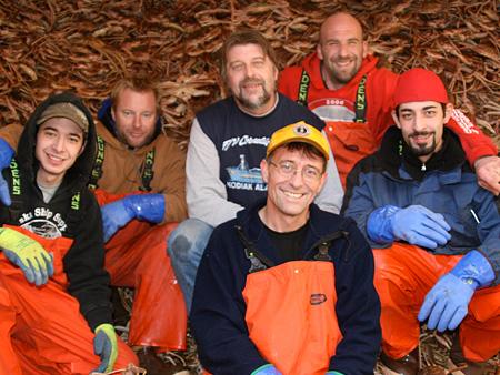 F/V Cornelia Marie crew