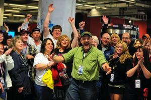 Keith Colburn & fans at CatchCon